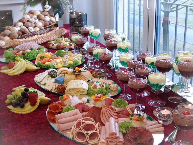 Праздничные закуски ко дню рождения